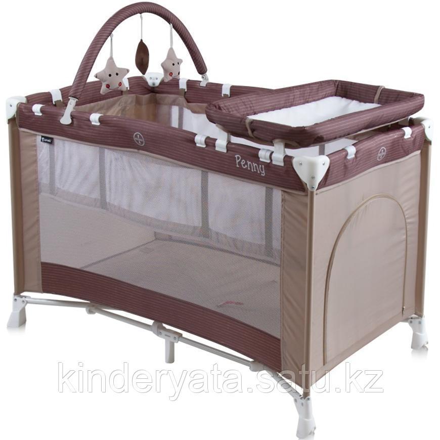 Кровать-манеж Bertoni Penny 2 Plus бежевый