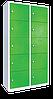 Шкаф металлический для одежды многосекционный