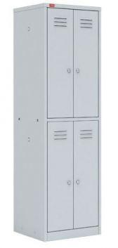 Шкаф для одежды c 4-я отделениями