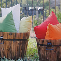 Акриловая ткань для шезлонгов, уличных матрасов и подушек LISOS COLLECTION