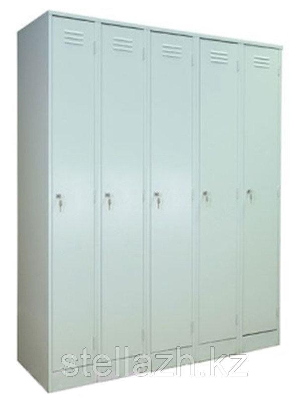 Металлический шкаф для одежды модульный