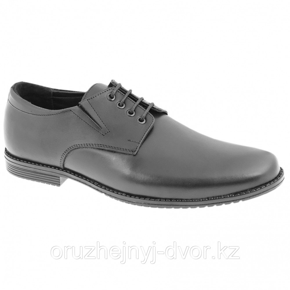 Туфли муж.кожа 8097/1WA на шнурках (черный) 8см, р41, 44