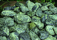 Натуральный камень полудрагоценный змеевик