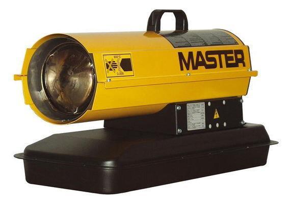 Дизельная тепловая пушка Master: B 150 CED - 900 м³/ч (с прямым нагревом)