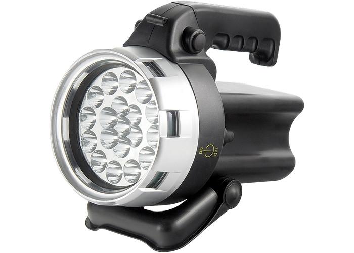(90533) Фонарь поисковый, аккумуляторный, 19 LED// Stern