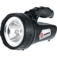 (90534) Фонарь поисковый, многофункциональный, аккумуляторный, 1+ 15 LED// Stern