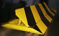 Дорожный блокиратор 3500М электромеханический, накладной, пандус 500 мм.