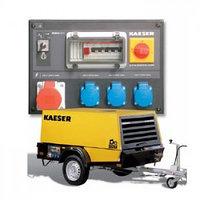 Передвижной компрессор электростанция Kaeser М 52G