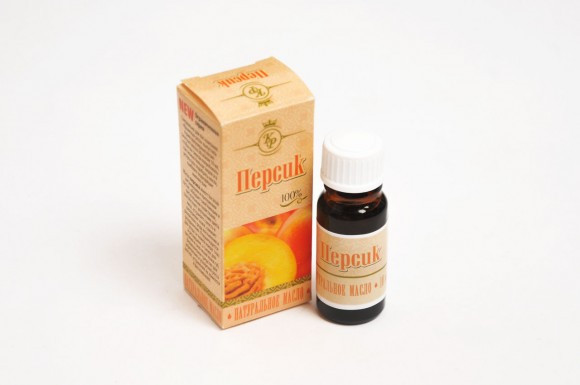Персик, косметическое жирное масло, 10мл