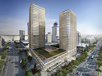 Talan Towers в городе Астана