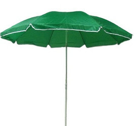 Зонт пляжный диаметр 1,5 м, мод.602BG (зеленый)