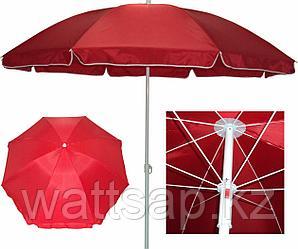 Зонт пляжный диаметр 1,5 м, мод.602BR (красный)