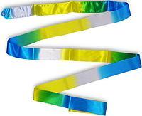 Лента гимнастическая многоцветная 6 м Tuloni