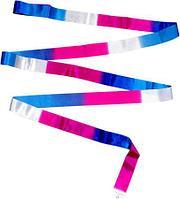 Лента гимнастическая многоцветная 5 м Tuloni