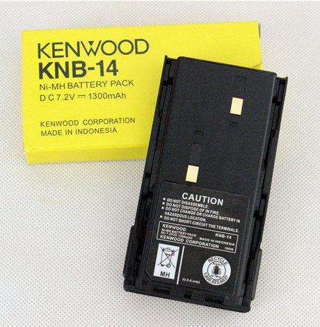 Аккумулятор KENWOOD KNB-14  7,2v  1300mAh для раций