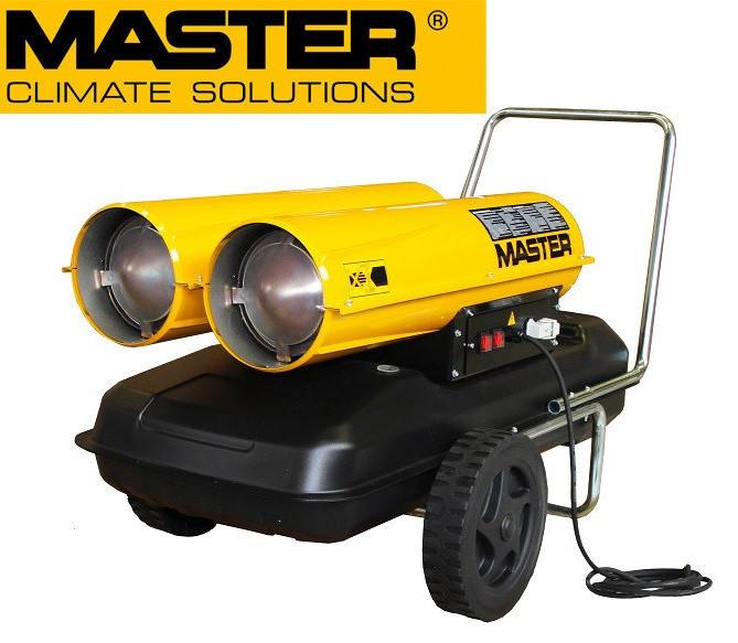 Дизельная тепловая пушка Master: B 300 CED - 1800 м³/ч (с прямым нагревом)