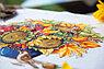 """Набор для вышивания крестом """"Осенний букет с подсолнухами"""", фото 2"""