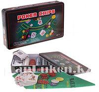 """Набор для покера """"Professional Poker Chips"""" 300 фишек с номиналом"""