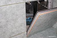 Ревизионный люк под плитку съемный 300*300