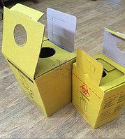 Контейнер для утилизации медицинских отходов класса Б и В. 10 литров