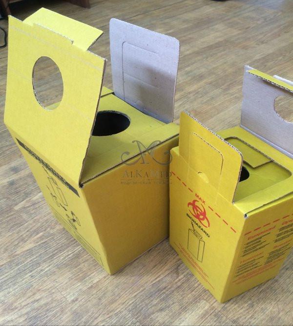 Контейнеры для утилизации медицинских отходов класс Б и В. 5 литров