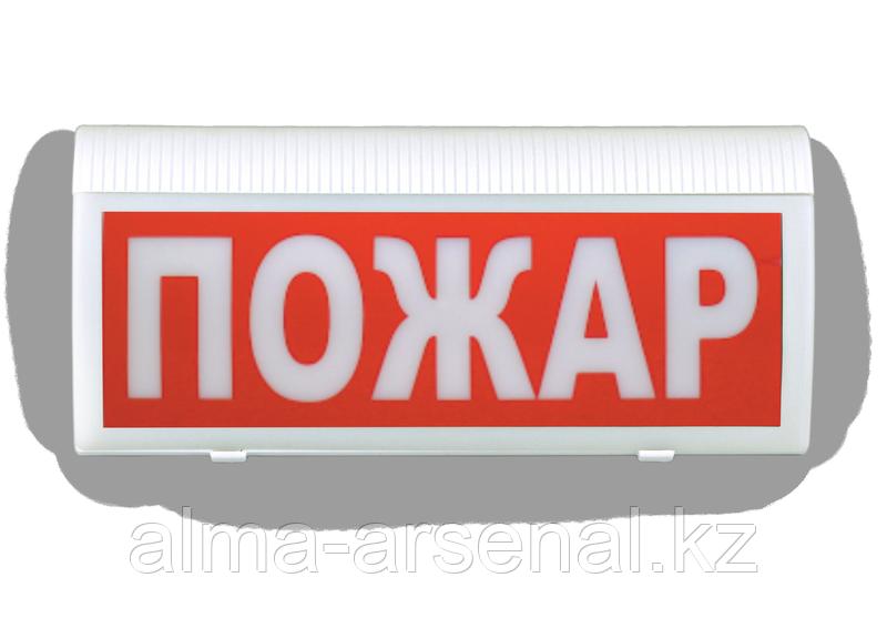 Оповещатель пожарный световой адресный радиоканальный «ВОСХОД-Р 12В»