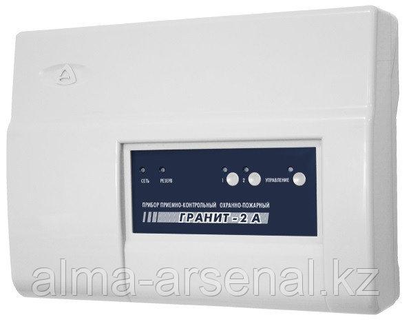 Прибор приемно-контрольный и управления охранно-пожарный Гранит-2А GSM