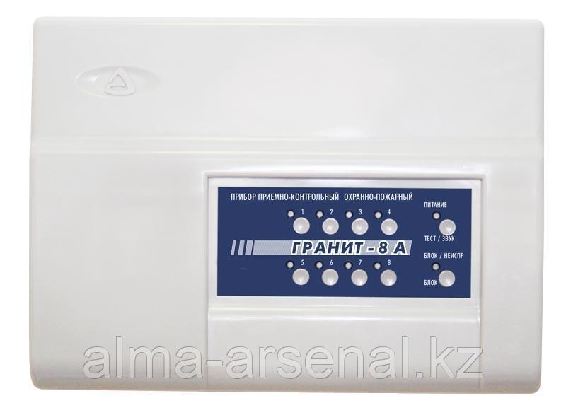 Приемно-контрольный и охрано-пожарный прибор Гранит-8А GSM