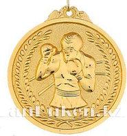 Медаль рельефная Бокс (золото)
