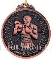 Медаль рельефная Бокс (бронза)