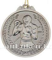 Медаль рельефная Бокс (серебро)