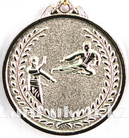 Медаль рельефная Каратэ (серебро)