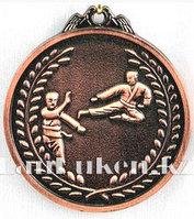 Медаль рельефная Каратэ (бронза)