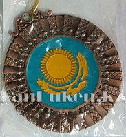 Медаль рельефная Казахстан (бронза)