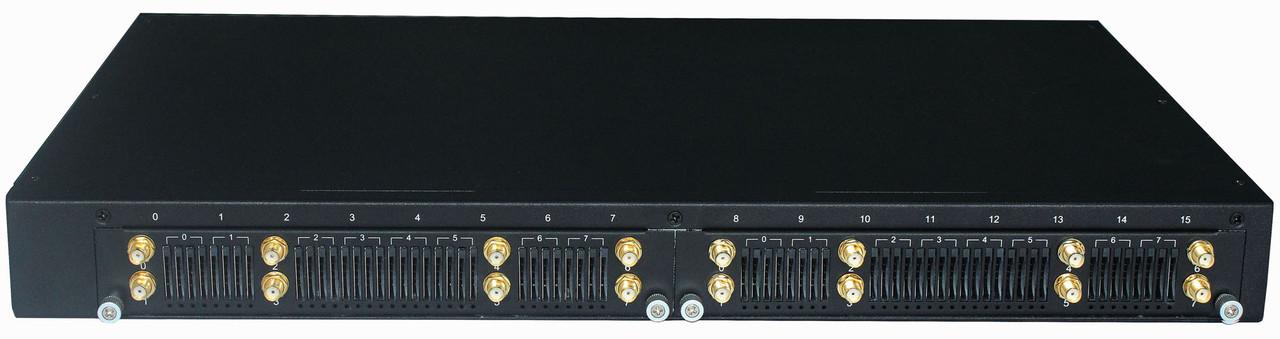 Dinstar DWG2000F-8G-V221-M - VoIP-GSM шлюз, 8 GSM каналов Multi-SIM, SIP