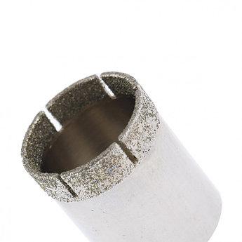 (726257) Сверло по стеклу и керамической плитке, 25 х 55 мм, цилиндр. хв.// СИБРТЕХ