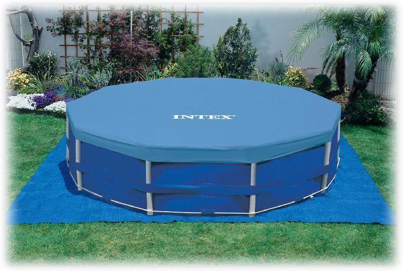 Тент для каркасного бассейна Intex 305 см