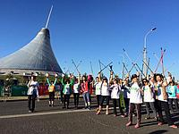 Продолжается регистрация на дистанцию 10 км Nordic Walking на Астана марафон