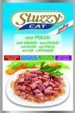 STUZZYCAT - влажный корм для кошек (с Курицей в желе) 100гр., фото 1