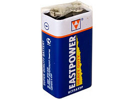 Батарейка солевая Eastpower 9v  6F22 (Крона, 9V)