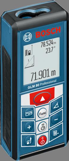Лазерный дальномер-уклономер Bosch GLM 80 (0601072300)
