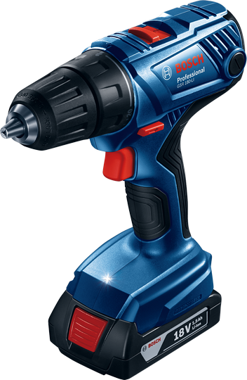 Bosch GSR 180-LI 2 x 1,5 Ah Case (06019F8100)