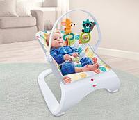 Многофункциональный шезлонг для малышей Енот Fisher price, фото 1