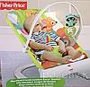 Многофункциональный шезлонг для малышей Енот Fisher price