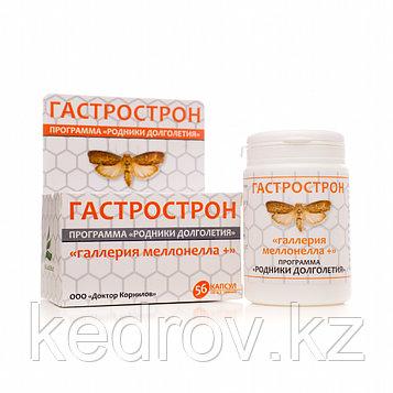 Гастрострон «Галлерия меллонелла +», 56 капсул. При заболеваниях желудка и двенадцатиперстной кишки.
