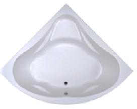 Акриловая угловая ванна Даниела 150*150 (Полный комплект)