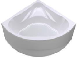 Акриловая угловая ванна Даниела 150*150 (Полный комплект), фото 2