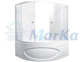 Акриловая угловая  ванна Палермо 150*150 (Полный комплект), фото 3