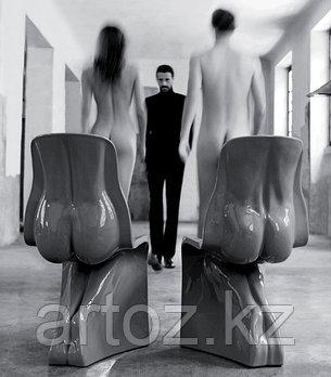 Стул chair him&her black, фото 2