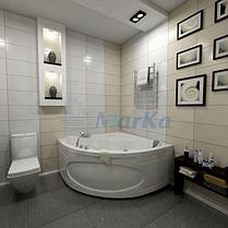 Акриловая угловая ванна Афродита 150*150 (Полный комплект), фото 2
